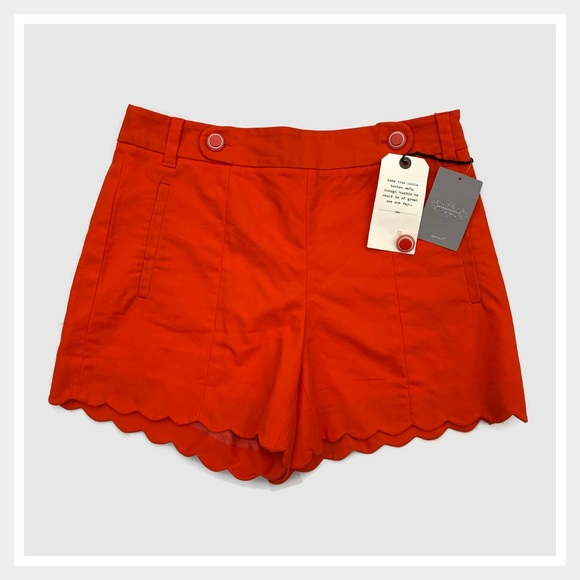 Anthropologie Pants - Anthropologie Cartonnier Scallop Sailor Shorts 4